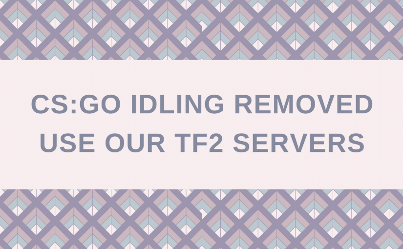CS:GO Idling Removed