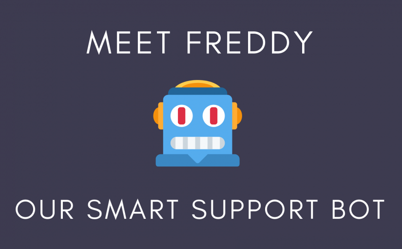 Introducing Freddy: Our Smart Support Bot