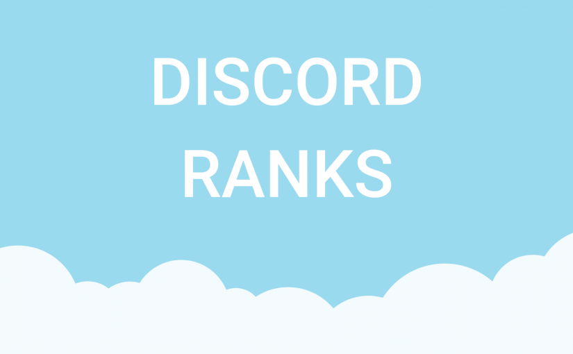 Discord Ranks Based On Account Levels