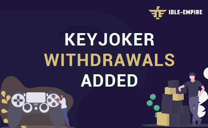 KeyJoker Withdrawals Added – Unlock Indie Steam Games